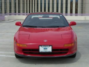 91 Mr2 turbo front view