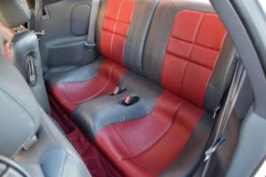 1991 Mitsubishi 3000GT VR-4 Backseat