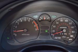 Mitsubishi 3000GT VR-4 Odometer